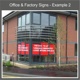 Office & Factory Signs