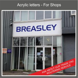 Perspex Acrylic Letters