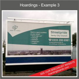 Construction Site Hoardings